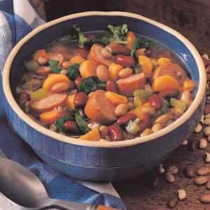 Sausage Bean Stew Recipe
