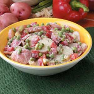 Potato 'N' Pea Salad Recipe