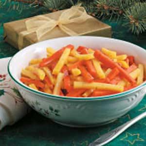 Lemon-Glazed Carrots and Rutabaga Recipe