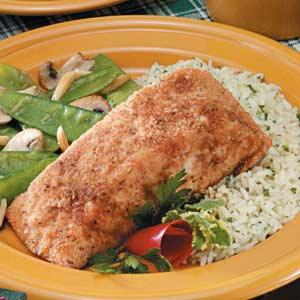Crumb-Coated Salmon Recipe