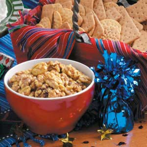 Sugared Curry Walnuts Recipe