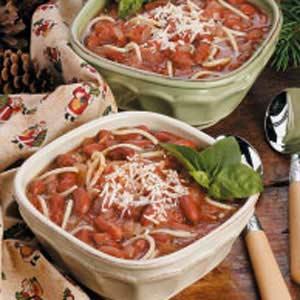 Spaghetti Chili Recipe