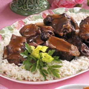 Short Ribs with Plums Recipe