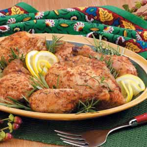 Light Butter Roasted Chicken Recipe