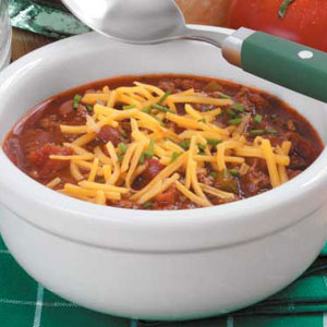 Zippy Slow-Cooked Chili