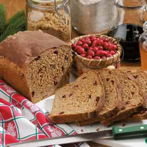 Holiday Cranberry Yeast Bread Recipe
