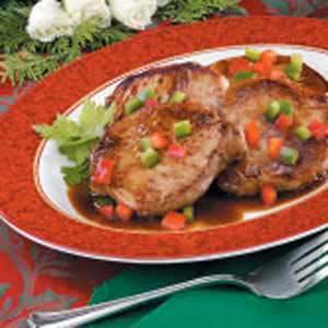 Sweet 'n' Tangy Pork Chops Recipe