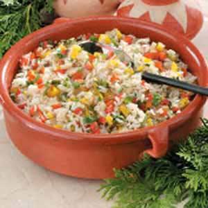 Peppered Cilantro Rice Recipe