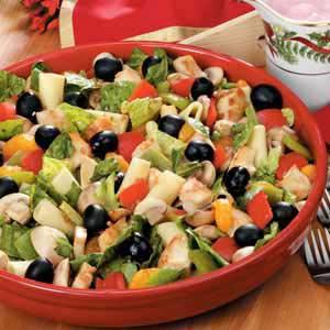 Chicken Pasta Salad with Oranges Recipe