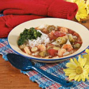 Crab 'n' Shrimp Gumbo Recipe