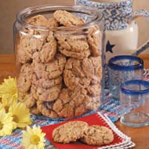 Oatmeal Nut Cookies Recipe