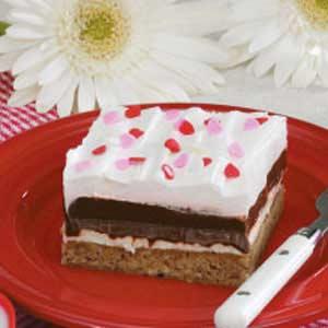 Crunchy Chocolate Pudding Squares Recipe