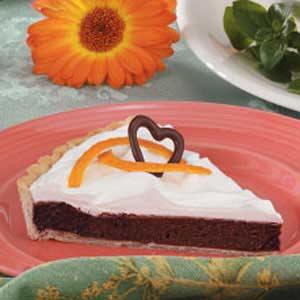 Orange Chocolate Tart Recipe
