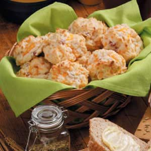 Ham Cheddar Biscuits Recipe