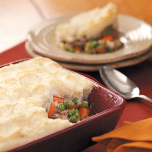 Simple Ground Beef Shepherd's Pie