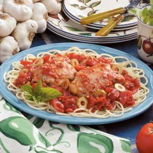 Mediterranean-Style Chicken Recipe