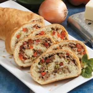 Sausage Pizza Loaf Recipe