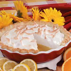 Citrus Meringue Pie Recipe