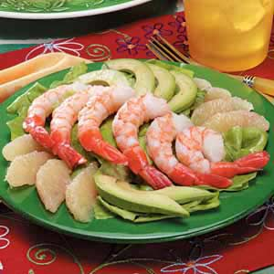 Grapefruit Shrimp Salad Recipe