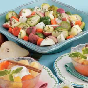 Steamed winter vegetables recipe taste of home steamed winter vegetables recipe forumfinder Choice Image