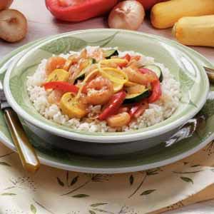 Shrimp with Vegetables Recipe