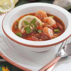 Quick Shrimp Gumbo Recipe