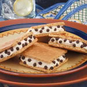 Pudding Grahamwiches Recipe