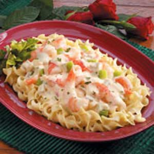 Creamy Shrimp Noodle Skillet Recipe