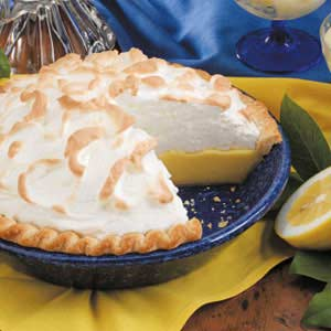 Creamy Buttermilk Lemon Pie Recipe