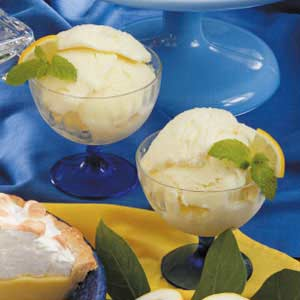 Frozen Lemon Yogurt Recipe
