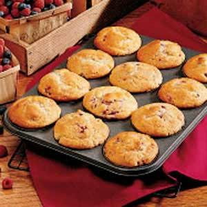 Sourcream Berry Muffins Recipe