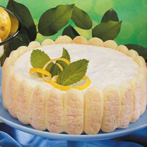 Ladyfinger Lemon Torte Recipe
