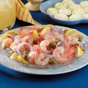 Tangy Marinated Shrimp Recipe