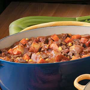 Spicy Chuck-Wagon Soup Recipe