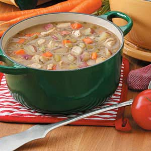 Chicken Vegetable Soup with Potatoes
