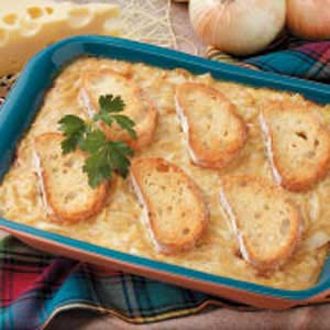 Golden Baked Onions Recipe
