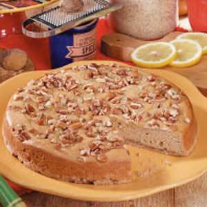 Toffee-Pecan Nutmeg Cakes Recipe