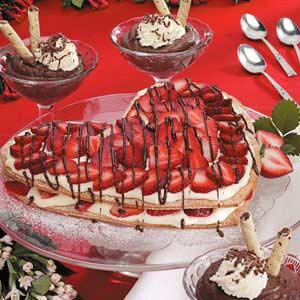 Sweetheart Custard Dessert Recipe
