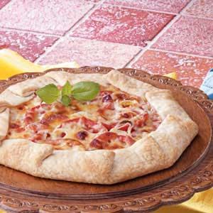 Tomato Leek Tarts Recipe