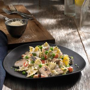 Johnsonville® Flame Grilled Lemon Chicken Pasta Recipe