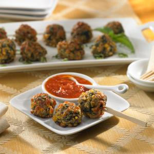 Johnsonville® Mild Italian Sausage Cheese Balls Recipe