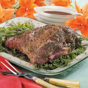 Rosemary Leg of Lamb Recipe