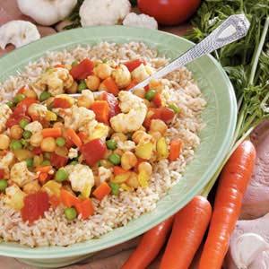 Chickpea Cauliflower Curry Recipe