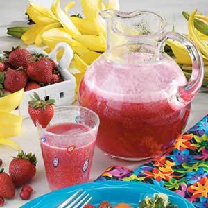 Cran-Strawberry Cooler Recipe