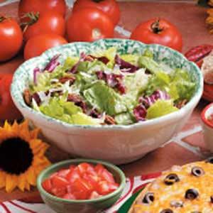 Pecan Tossed Salad Recipe