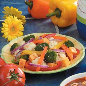 Robust Pepper Salad Recipe
