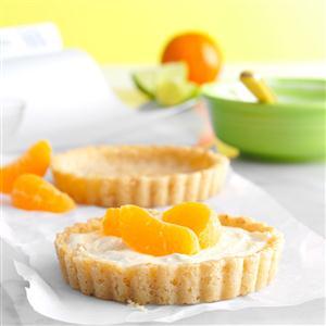 Citrus Cream Tartlets Recipe