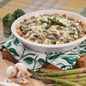 Asparagus In The Round Recipe