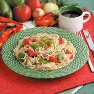 Ramen Noodle Stir-Fry Recipe
