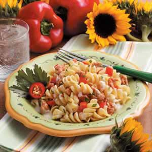 Makeover Creamy Italian Sausage Pasta Recipe